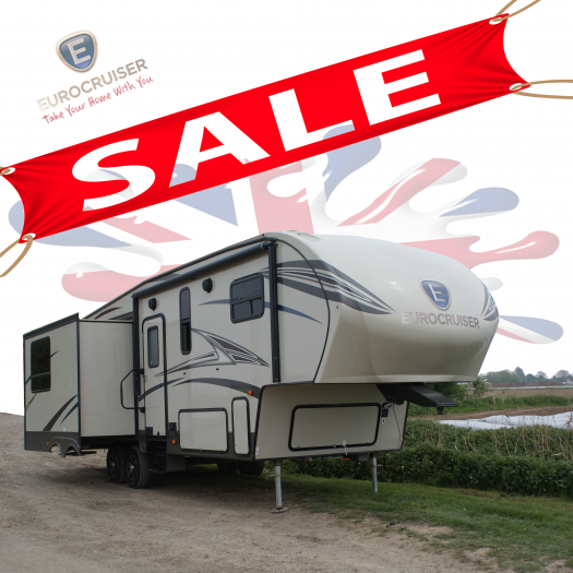 EuroCruiser 5th Wheel American Caravan Direct RV Full IVA.