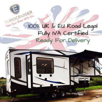 EuroCruiser American 5th Wheel Caravan Full IVA Road Legal